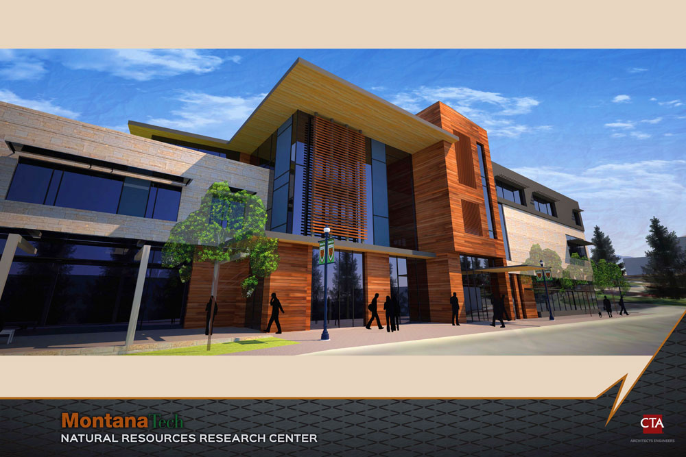 Natural Resources Research Center architectural rendering